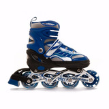 Roller Imperio Azul Extensible 31 Al 34 Taco Freno
