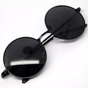 ac703f245e81c Óculos De Sol Redondo Estilo Ozzy John Lennon Disponível