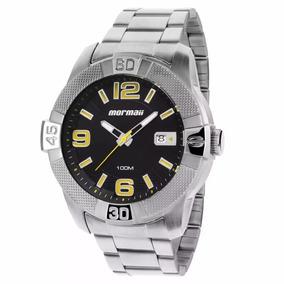 Relógio Mormaii Masculino Prteado Mo2315ar/1p Original + Nf