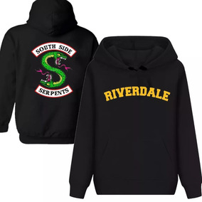 Moletom Capuz Riverdale Netflix Serie Bulldogs Serpentes