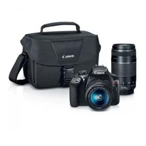 Camara Canon Eos T6 Kit Premium (18-55mm+75-300mm Ef Iii+ Bo