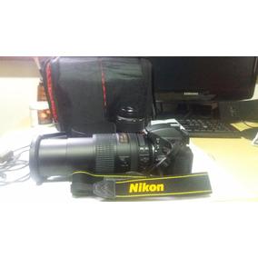 Kit Câmera Nikon D5100 + Lentes 18x300 - Pouco Uso