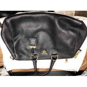 78dd11bd309 Bolsa Prada Vitello Daino Leather Bauletto Bag Bl0778