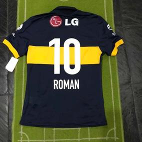 Camiseta Match De Juego Boca 2009 Titular #10 Román Riquelme