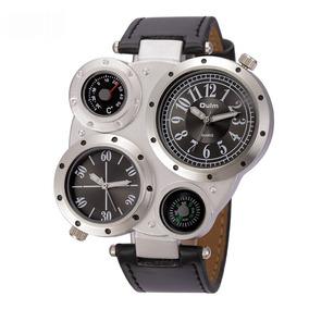 38566e6383d Relógio Masculino Oulm Genuine - Relógios no Mercado Livre Brasil