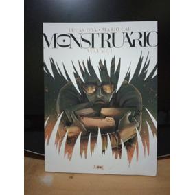 Monstruário Volume 1 Lucas Oda E Mário Cau - Jupati 2017