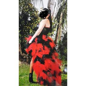 Vestidos rojo y negro de 15