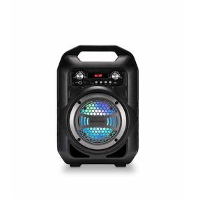 Caixa De Som 6 Em 1 Bluetooth 50w Rms Karaokê Rádio Fm