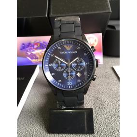 5fd520dc849 Relogio Emporio Armani Ar5977 Black Masculino - Relógios De Pulso no ...