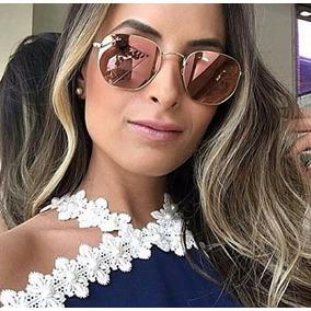 Oculo Sol Redondo Espelhado Pink - Óculos no Mercado Livre Brasil 803ec5d13d