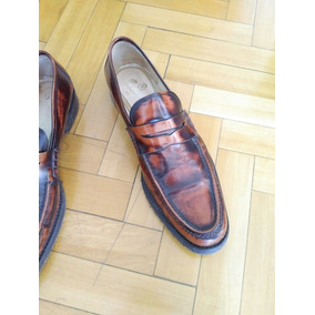 Prego Zapatos Hombre Punta T 41 Charol Patinado Larga 1wnnd7xT