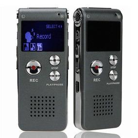 Gravador De Voz Digital Espiao 8gb Com Fone De Ouvido Kp8011