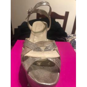 4bd26b03 Zapatos De Novia Color Manteca Plataformas Mujer Sandalias - Zapatos ...