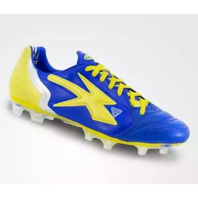 Zapatos Concord Futbol Azul amarillo 100% Originales d2d367a9fa323