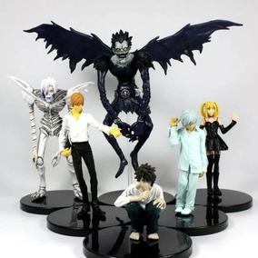 Death Note Set Com 6 Personagens