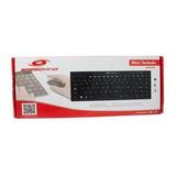 3 Teclados Speedmind Tek Tem01 Mini Usb Para Laptop