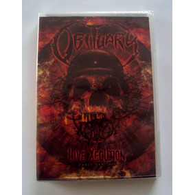Obituary - Live Xecution - Dvd / Novo E Lacrado