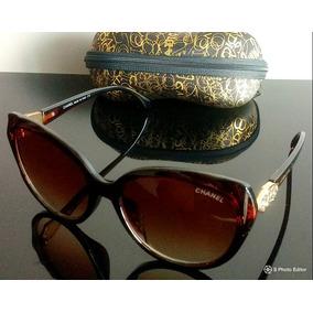 c8e30a131e19f Chanel Vizzano Marrom - Óculos no Mercado Livre Brasil