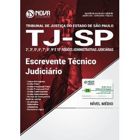 Apostila Tj-sp - Escrevente Técnico Judiciário (2018) [nova]