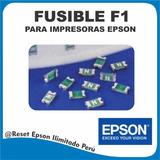Fusible F1 Epson Para Impresora Epson (12x 10 Und)