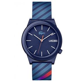 Relógio Lacoste Unisex Pulseira Silicone Azul - 2010934