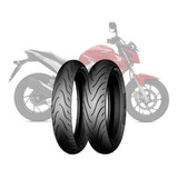 Kit Cubiertas 100 80 17 + 130 70 17 Michelin - Sti Motos