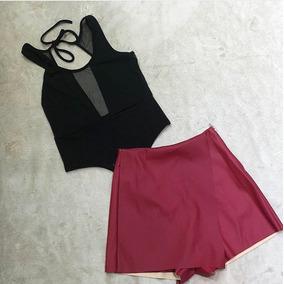 Body Tul Escote Y Espalda Escotada Mujer Moda Fiesta Verano