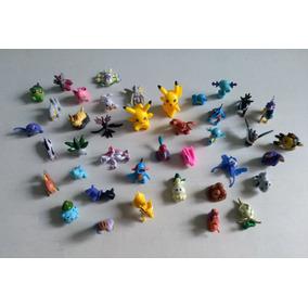Coleção, Lote 40 Miniaturas Figuras Mini Pokémon + Brinde