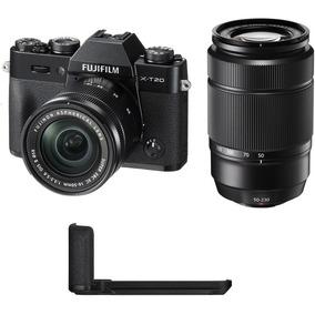 Fujifilm Camara Fujifilm X-t20 Silver Xc16-50mm + Xc50-230mm
