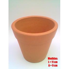 20 Vasos De Barro 11 X 9 Cm P/lembrancinha Casamento Violeta