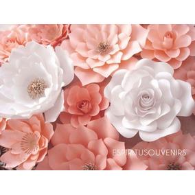 Flores Gigantes Papel - ¡¡ 3 Diferentes Opciones De Kit !!