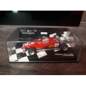 Miniatura F1 Villeneuve Ferrari 82 Minichamps 1/43