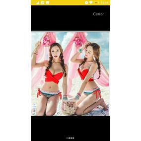 Bikini Push Up Envio Gratis Copa Con Varilla
