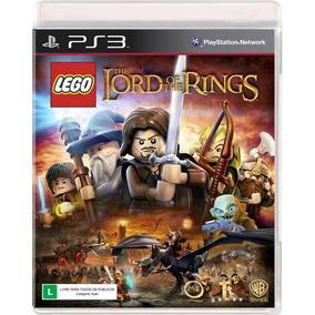 Lego Lord Of Rings Ps3 Mídia Física Novo Lacrado Português
