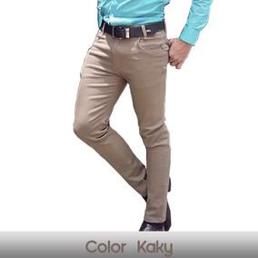 Lote De 3 Pantalones Para Hombre Corte Skinny Entubados