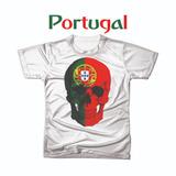Camiseta Camisa Personalizada Copa Do Mundo Portugal Futebol 317becdd7350c