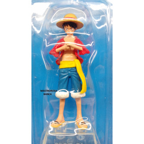 Coleçao Oficial Miniaturas One Piece Monkey D. Luffy Ed.1