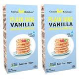 Lechería-libre Pancake Y Waffle Mix, Vegano - Plain Jane Vai