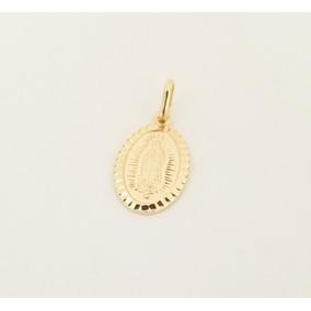 Medalla Virgen De Guadalupe Bautizo P.c Oro Italiano 10k 1.6