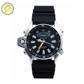 8b60efaabc6 Relogio Atlantis Style Pulseira De Borracha - Joias e Relógios no ...