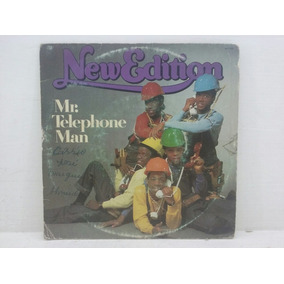 Compacto - New Edition - Mr. Telephone Man - 1985