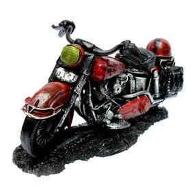 Moto Custom Decoração Em Resina - Harley Davidson