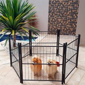 Cercado Cão Canil Pet Cão Cachorro Médio 6/80cm Frete Grátis
