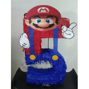 Piñata Mario Bross Numero