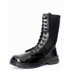 Coturno Militar Com Ziper Atalaia Extra Leve - Calçados e3246e558b4