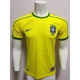 6fe14bd2e6 Camisa Seleção Brasileira (réplica) Marca  - Camisas de Futebol no ...