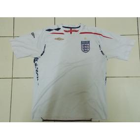 Inglaterra 2007/2009 Umbro Titular Tamanho Xl