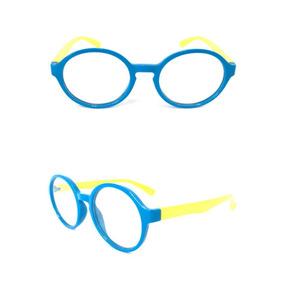 Armação Para Óculos De Grau Modelo Monkey King - Óculos Azul claro ... d333801c20