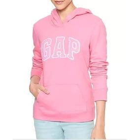 Sudadera Gap Mujer Color Rosa Hermoso Talla X L