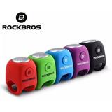 Buzina Eletrônica Rockbros - Com 3 Toques Diferentes